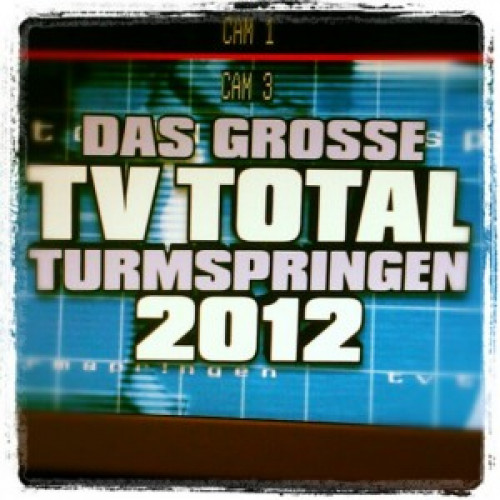 "TV-Grafik – ""TV TOTAL Turmspringen 2012"" (Pro7)"