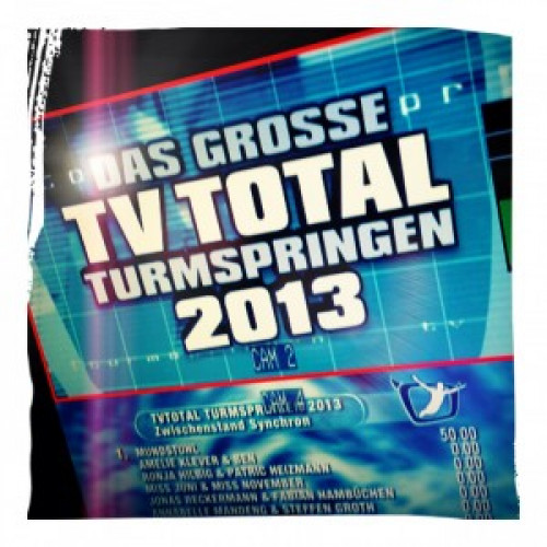 "TV-Grafik – ""TV TOTAL Turmspringen 2013"" (Pro7)"