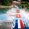 "virtuelle Grafik – ""rowing world cup 2015"" Bled, Slovenien"
