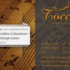 "Graphicdesign – Visitenkarten ""Toccata"""